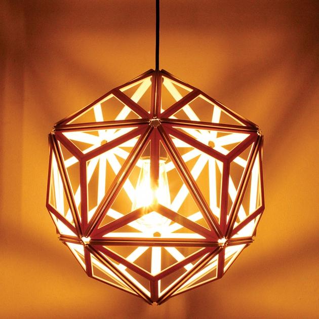 QUALY 三角幾何-鏤空燈罩 (2色) 5