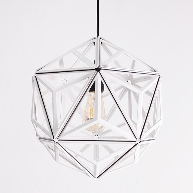 QUALY 三角幾何-鏤空燈罩 (2色) 1