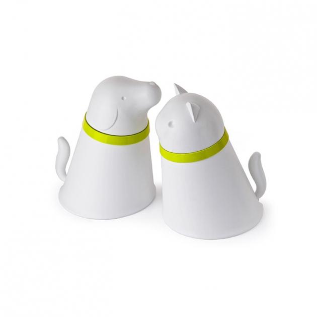 QUALY 凱喵-附碗飼料筒 (2色) 4