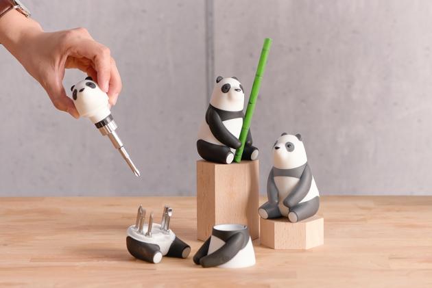 iThinking Panda Mama棘輪螺絲起子組(有備無患款) (2色) 4