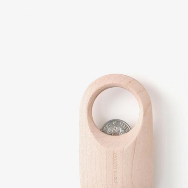 pana objects  零錢開瓶器 (楓木) 3