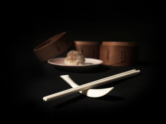 Balanced Chopsticks Rest - Simple beige 4