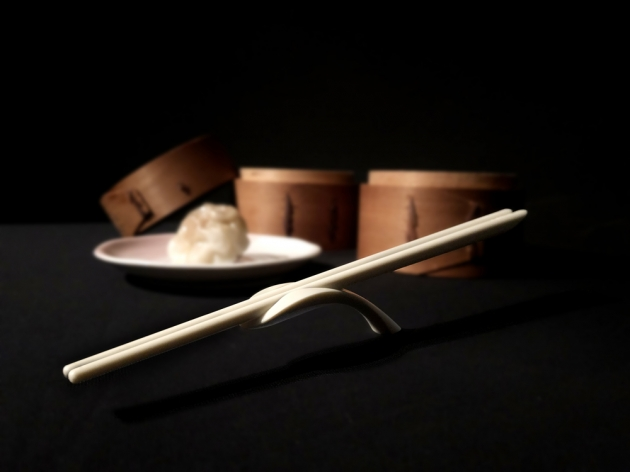 Balanced Chopsticks Rest - Simple beige 3