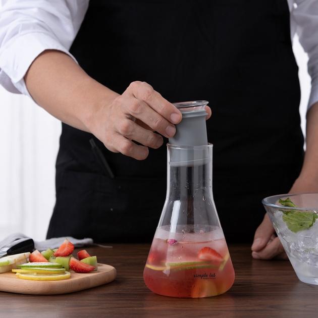 simple lab MIXO 燒杯泡茶壺 6