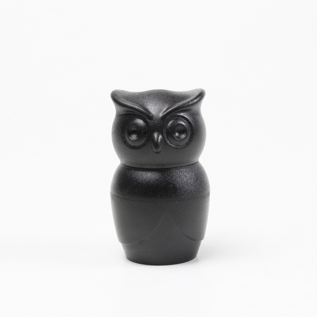QUALY 貓頭鷹研磨器 (黑) 1